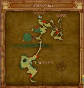 メダチャットのマト地図