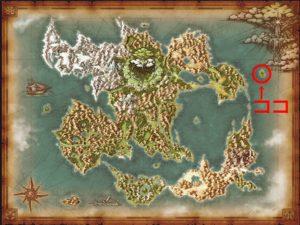 スライム島マップ
