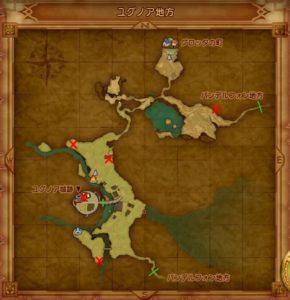 ユグノアのマト地図
