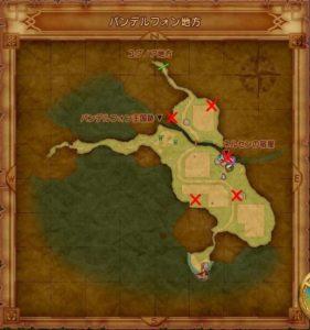 ヴァンデルフォンのマト地図